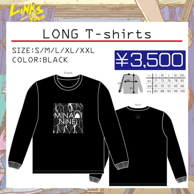 11/11 LINKS TOUR@渋谷O-WEST先行物販&NEWグッズ販売開始!